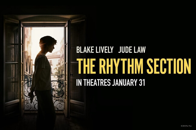 film barat terbaru the rhythm section (2020)