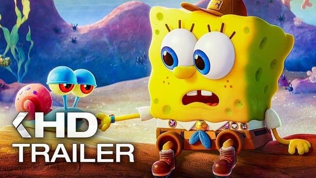 film barat terbaru the spongebob movie sponge on the run (2020)