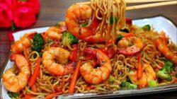 cara membuat mie goreng seafood ala restoran yang enak