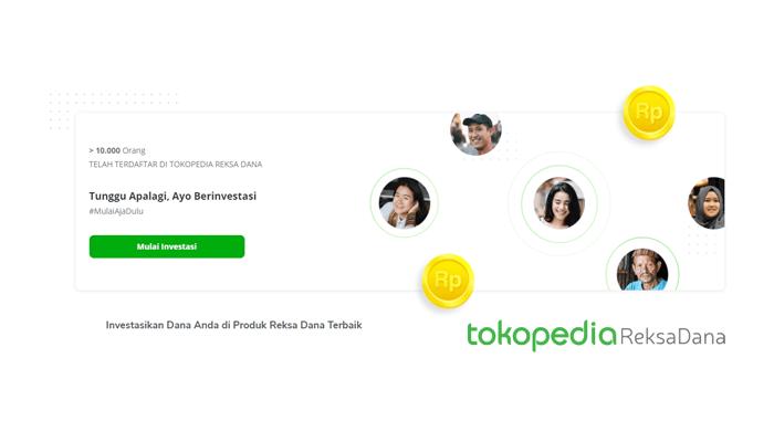 cara investasi reksadana tokopedia