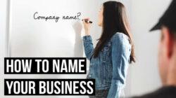 cara memilih nama perusahaan