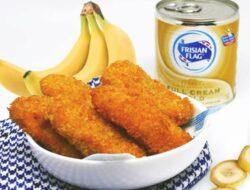 Sarapan Gorengan Tambah Legit Dengan Susu Kental Manis Frisian Flag Gold