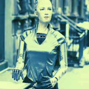 Sophia the Robot Joins NFT Craze With AI-Driven Crypto Artwork