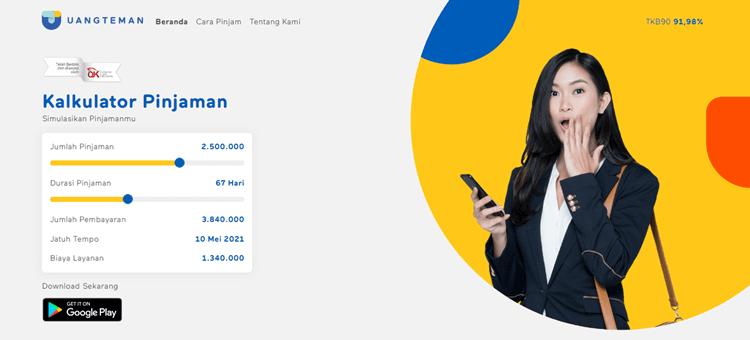 layanan pinjaman online terbaik