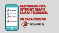 kuota internet gratis telkomsel