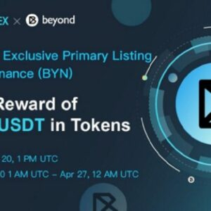 Beyond Finance Listing On Ascendex
