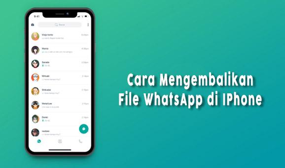 cara mengembalikan aplikasi whatsapp yang terhapus di android dan iphone