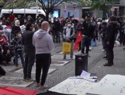 Demonstrasi Protes Nasional Anti-Israel di Jerman, Pengunjuk Rasa Desak Mengakhiri Penjajahan Terhadap Palestina