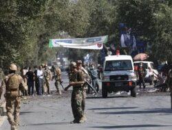 Ledakan di Masjid Saat Salat Jumat di Kabul Afghanistan Tewaskan 12 Orang, Ini Kronologinya