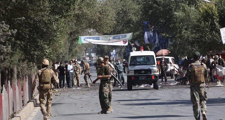 ledakan di masjid saat salat jumat di kabul afghanistan tewaskan 12 orang