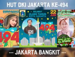 60 Link Twibbon HUT DKI Jakarta 2021 Terbaru & Ucapan Selamat Ulang Tahun Jakarta ke-494