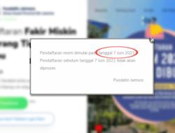 Resmi Dibuka Hari Ini! Klik fmotm.jakarta.go.id Daftar DTKS FMOTM 2021 DKI Jakarta Agar Dapat Bansos Hingga Rp 1,8 Juta
