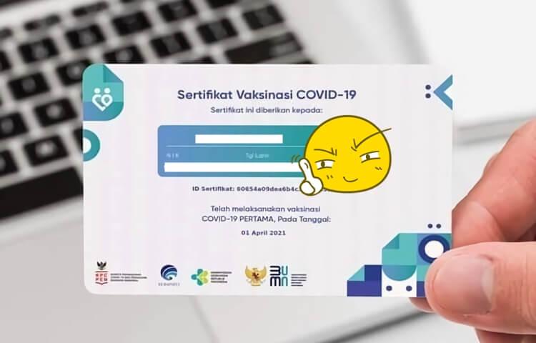 alasan kenapa sertifikat vaksinasi covid-19 tidak perlu dicetak seperti ektp dan kartu atm