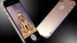 harga dan spesifikasi stuart hughes iphone 4 diamond rose edition