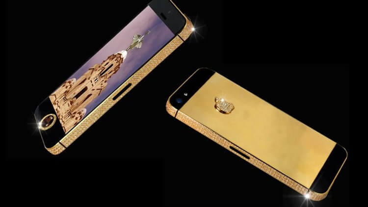 harga dan spesifikasi stuart hughes iphone 4s elite gold