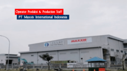 lowongan kerja pt maxxis international indonesia juli 2021