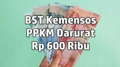 Kemensos Salurkan Bansos BST Rp 600 Ribu PPKM Darurat Paling Telat Minggu ke-2 Juli 2021