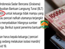 Yayasan Graisena Salurkan BLT Rp 350 Ribu, Cek Syarat dan Ketentuan Beserta Cara Daftar di Sini
