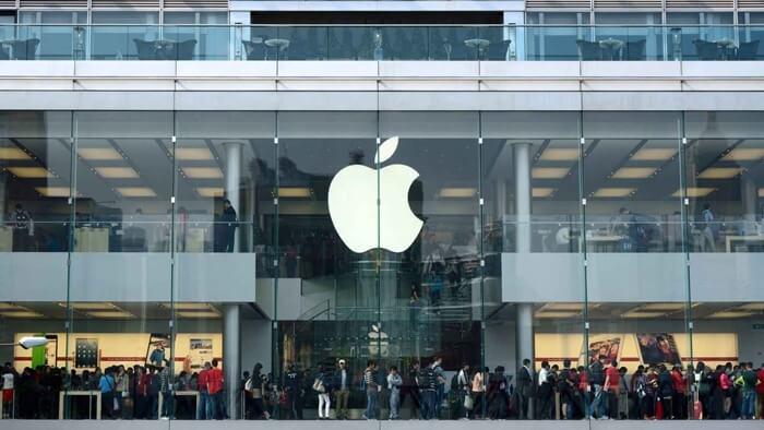 jumlah dividen saham apple per tahun