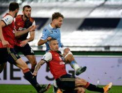 Imbang 2-2, Hasil Lazio vs Cagliari: Biancoceleste di Tangan Maurizio Sarri Kembali Mandek