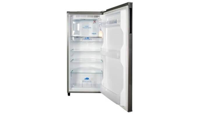 kekurangan kelebihan harga dan spesifikasi kulkas aqua aqr-d181 1 pintu
