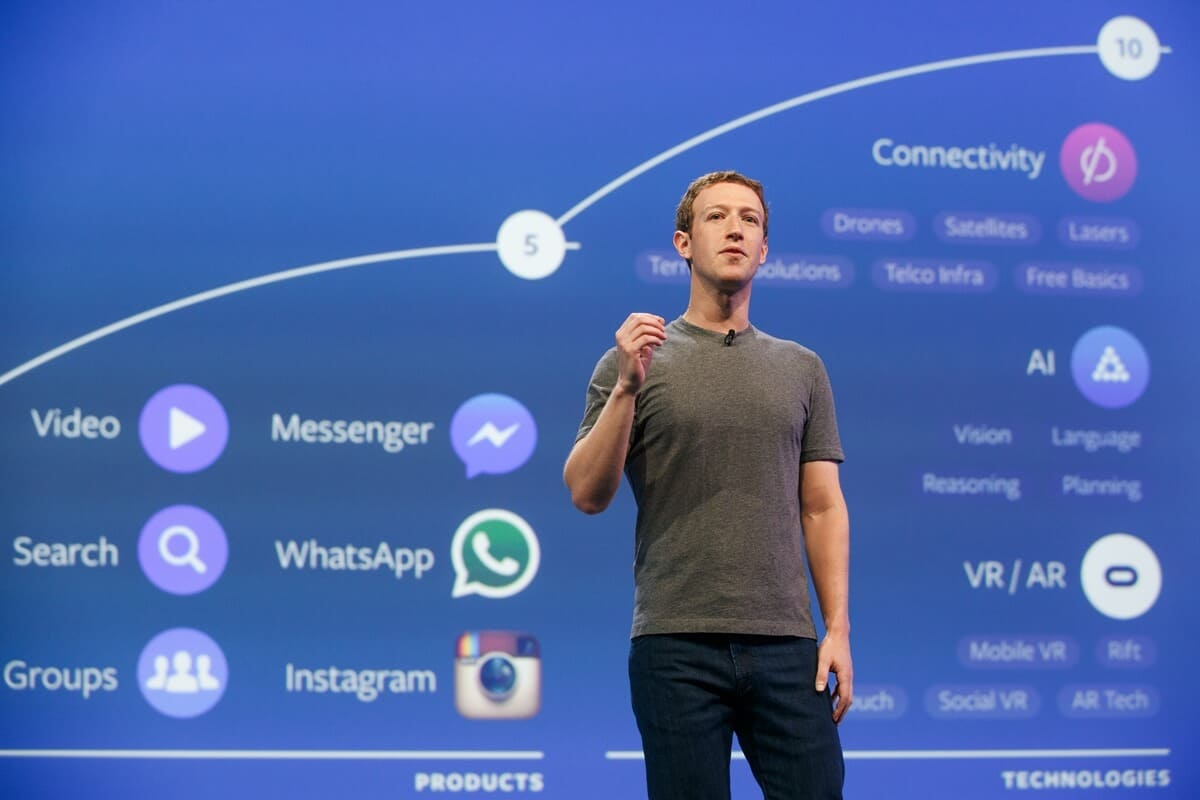 whatsapp facebook instagram down, mark zuckerberg kehilangan rp 99 triliun